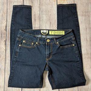 Indigo Rein dark wash skinny jean